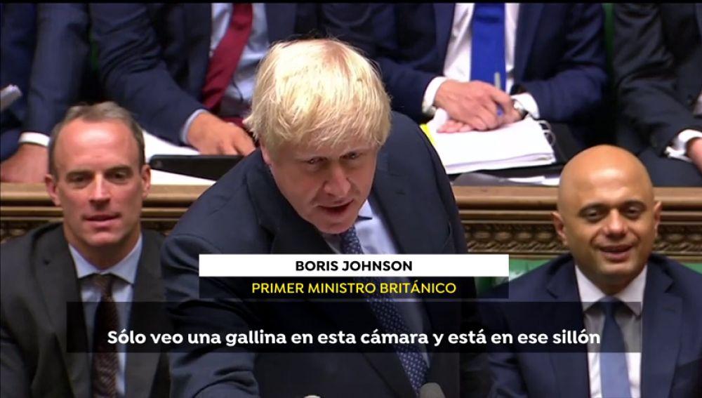 """Insultos durante el debate para evitar un brexit sin acuerdo: """"Nenaza"""", """"gallina colorada"""""""