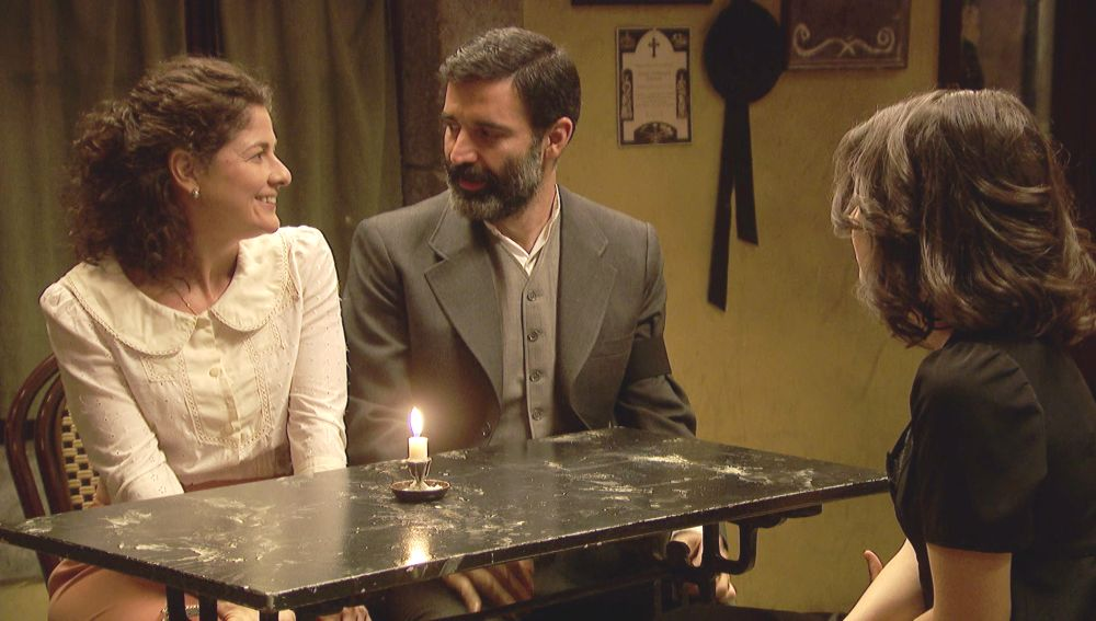 Berengario y Marina en 'El secreto de Puente Viejo'
