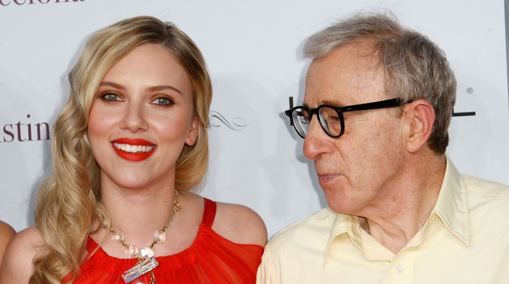 Scarlett Johansson y Woody Allen