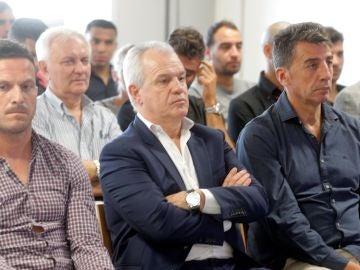 Javier Aguirre, en el juicio en Valencia