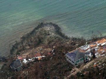 Destrozos en Bahamas