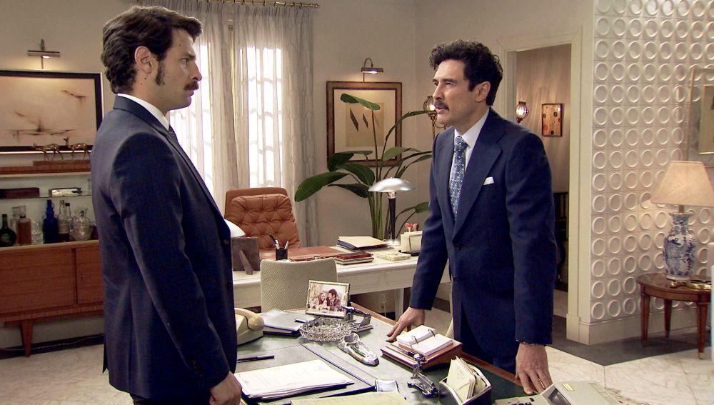 Armando Ordóñez y Carlos en  'Amar es para siempre'