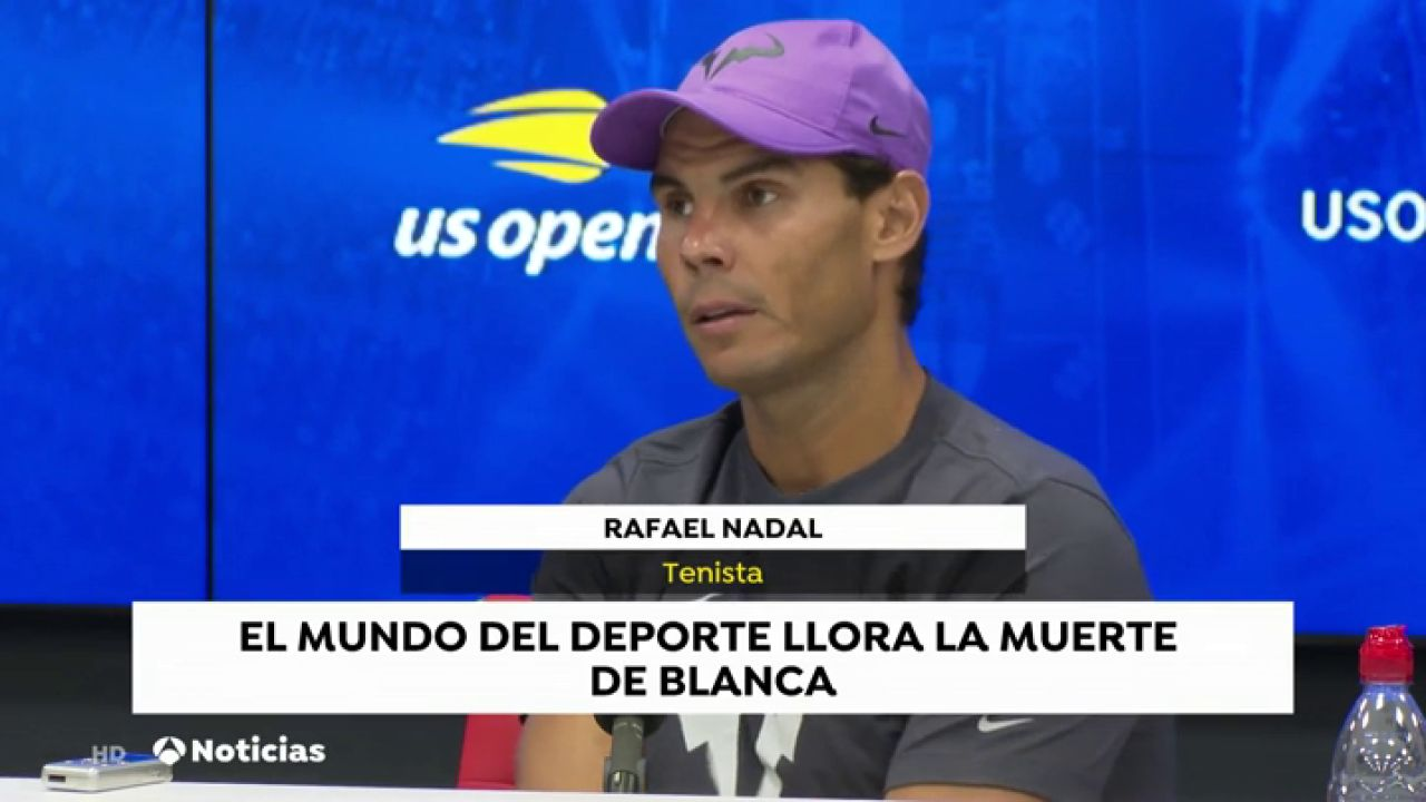 Los Deportistas Españoles Lloran La Muerte De Blanca