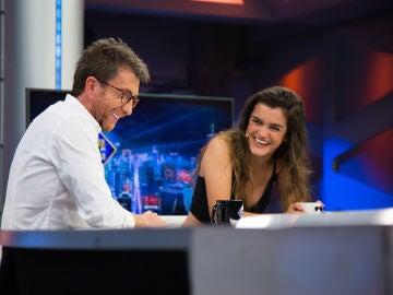 Amaia revela en 'El Hormiguero 3.0' la anécdota por la que tuvo que hacer cola para su propio concierto