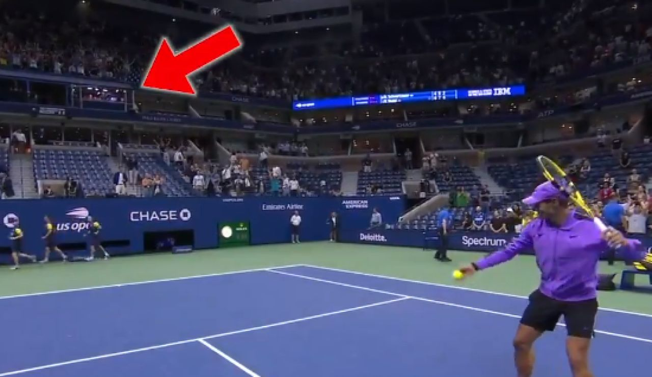 Rafa Nadal tras pasar a semifinales del US Open