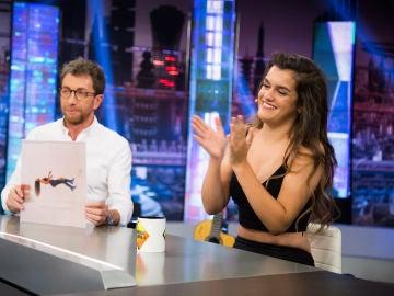 """Amaia habla en 'El Hormiguero 3.0' de su single 'El relámpago': """"Me cayó la ramificación de un rayo"""""""
