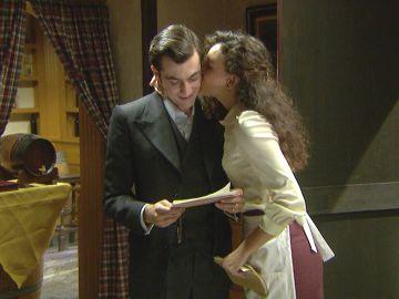 Prudencio y Lola en 'El secreto de Puente Viejo'
