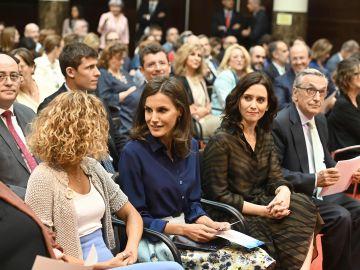 La reina Letizia preside la presentación de la guía sobre discapacidad para la prensa