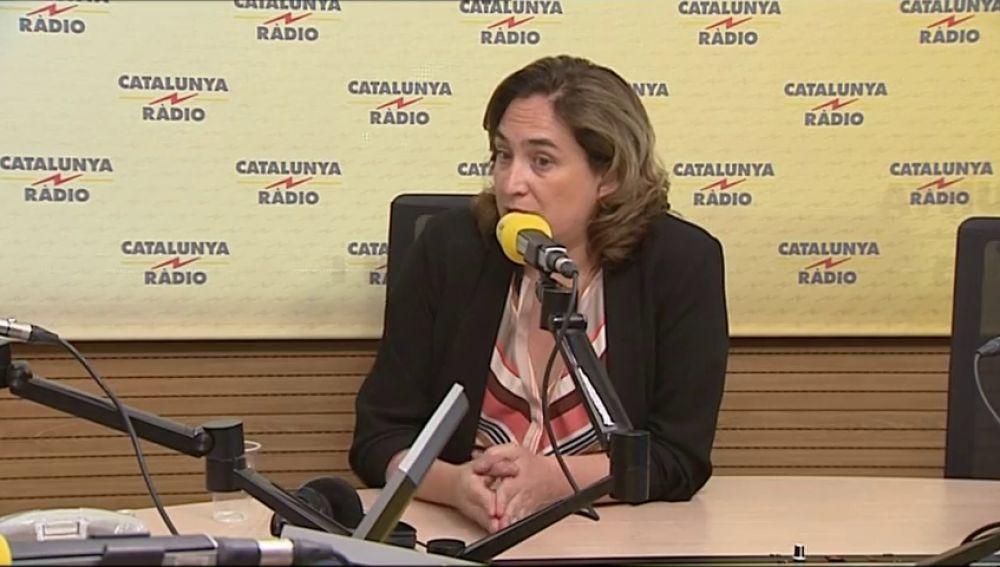 """Ada Colau, alcaldesa de Barcelona, asegura que su """"prioridad institucional"""" es que los políticos catalanes en prisión salgan de la cárcel"""