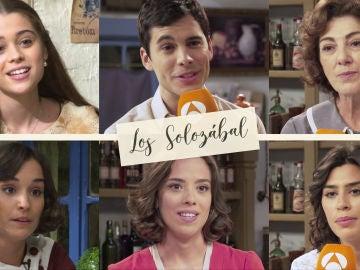 Los actores que interpretan a los Solozábal nos presentar a la nueva familia de 'El secreto de Puente Viejo'