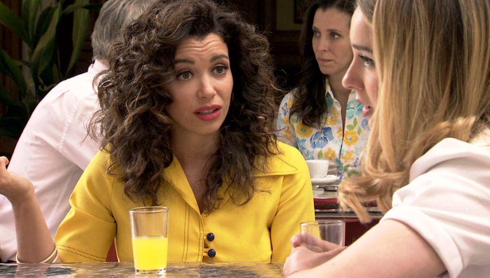 Amelia y Luisita en 'Amar es para siempre'