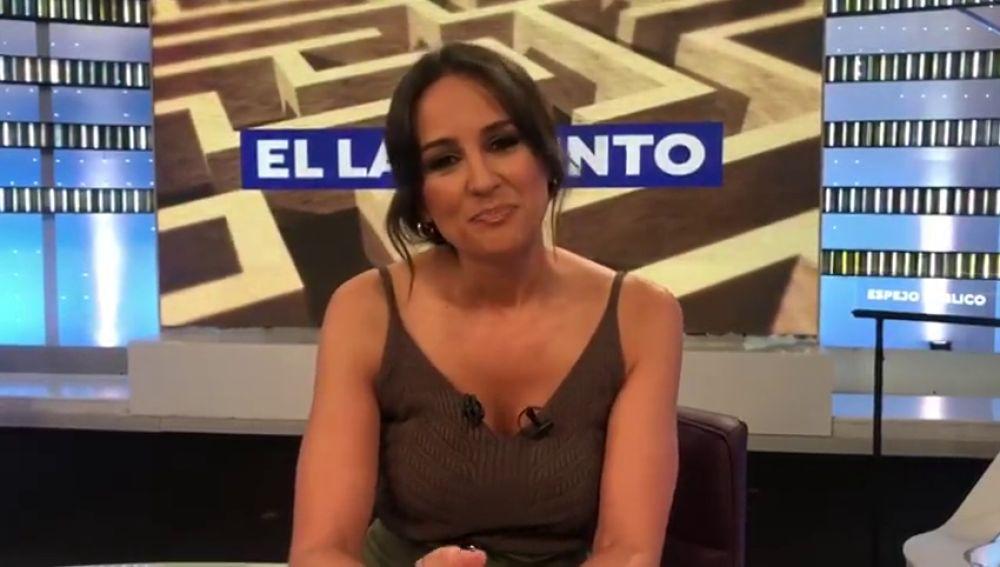 """Lorena García se despide de 'Espejo Público': """"Trabajar en lo que te gusta y bien acompañada es una pasada"""""""