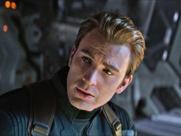 Chris Evans como Capitán América en Marvel