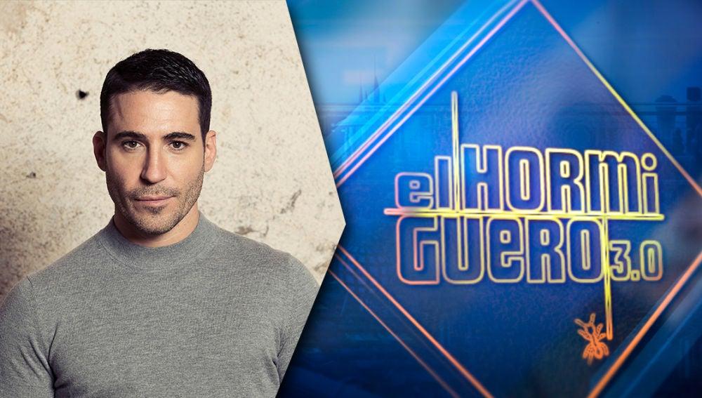El actor Miguel Ángel Silvestre presenta sus nuevos proyectos este martes en 'El Hormiguero 3.0'