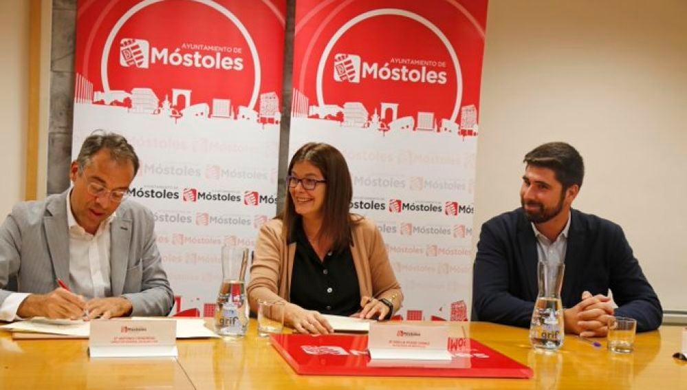 Noelia Posse Gómez, alcaldesa del Ayuntamiento de Móstoles