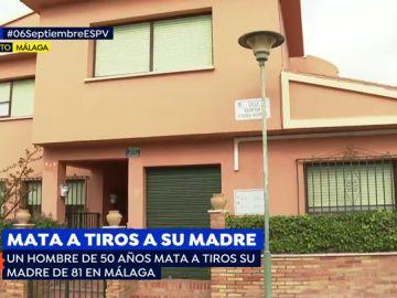 Un hombre de 50 años mata a tiros a su madre de 81 años en Málaga