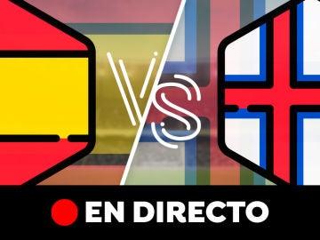 España - Islas Feroe: Partido de hoy de la Clasificación de la Eurocopa 2020 y resultado, en directo
