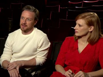 James McAvoy y Jessica Chastain, actores 'It: Capítulo 2'