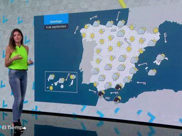 El domingo dejará tormentas en zonas de Castilla-La Mancha, Comunidada Valenciana y Andalucía