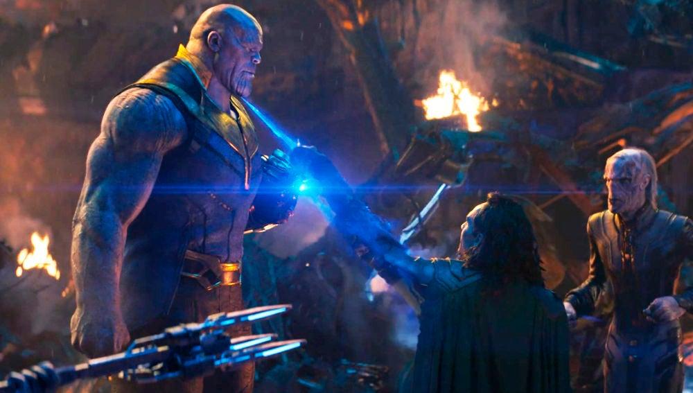 Loki y Thanos en 'Vengadores'