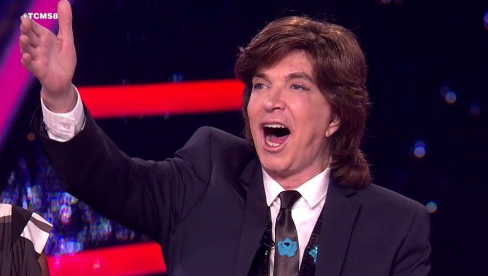 La entrañable intervención del cantante como jurado de 'Tu cara me suena'