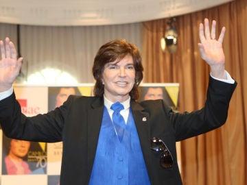 Camilo Sesto en una presentación.