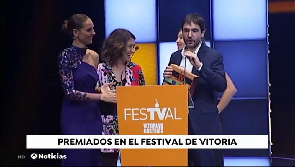 Dos concursos de Antena 3, premiados en el Festival de Vitoria