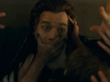 Ewan McGregor como Danny Torrance, el niño de  'El resplandor'