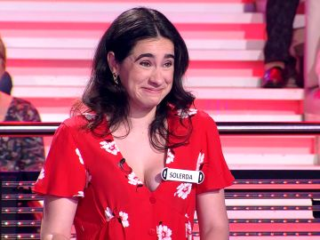 Una concursante llamada Solerda explica el sorprendente origen de su nombre en '¡Ahora caigo!'