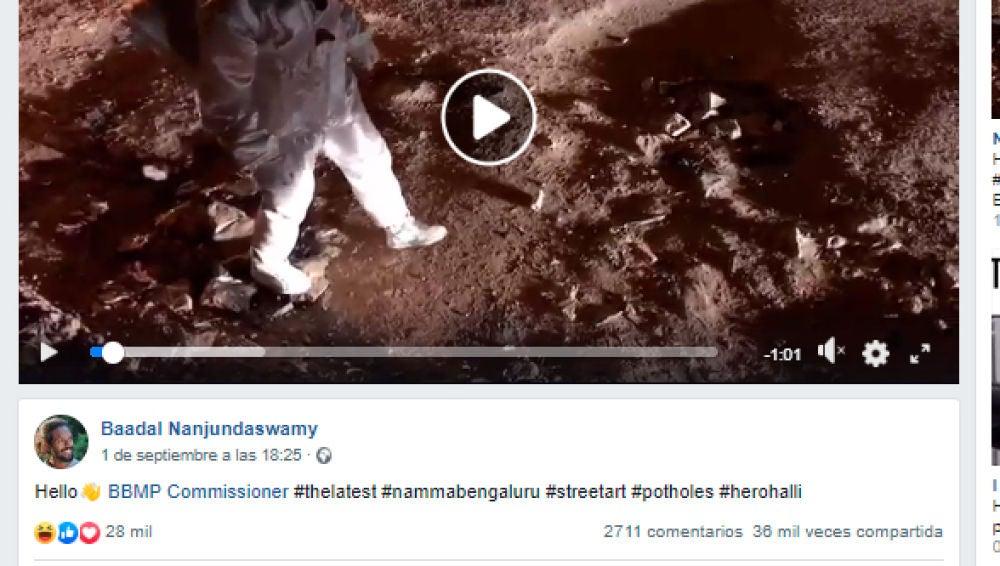Portada del vídeo viral