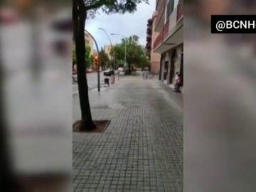 Pelea multitudinaria con palos y botellas en Barcelona