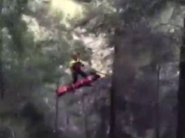 Herido un escalador al precipitarse desde 15 metros de altura en Montanejos
