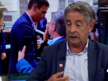 Miguel Ángel Revilla contesta en 'El Hormiguero 3.0'  al vídeo en el que reprime al hombre que insultó a Pedro Sánchez