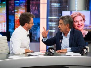 Miguel Ángel Revilla desvela en 'El Hormiguero 3.0' el menú que compartió con Pedro Sánchez