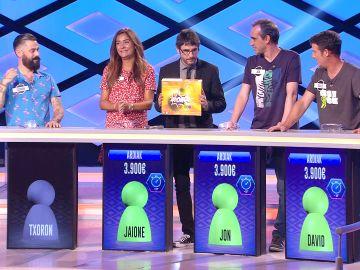 'Ardiak', destronados en su tercer programa en '¡Boom!'