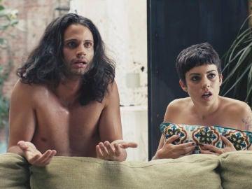Marta y Javi descubren que Carla y Diego están juntos