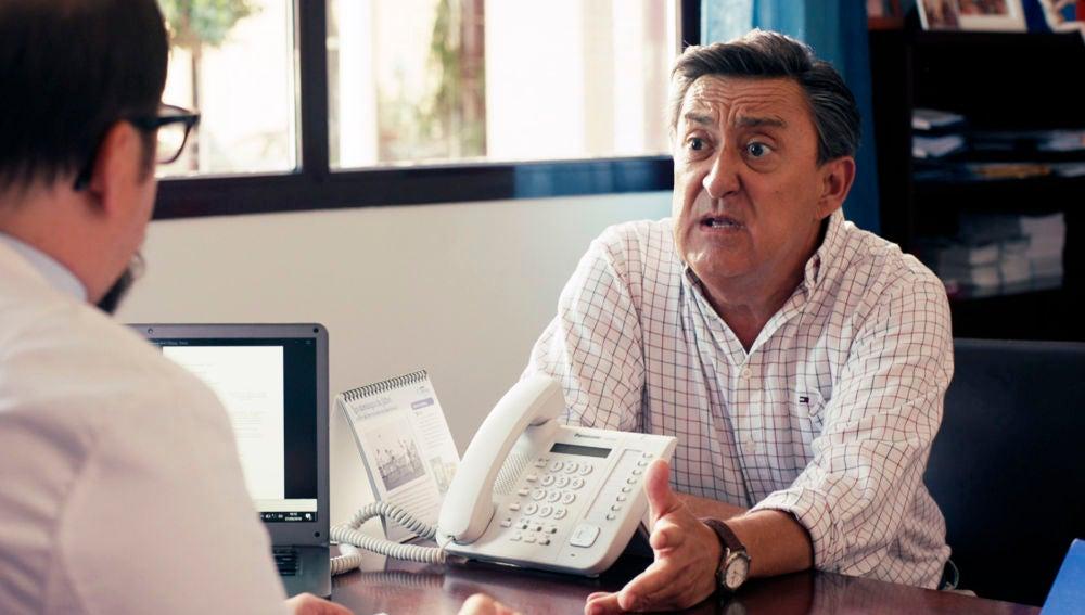 El médico le da la mala noticia a Joaquín: necesita un riñón con urgencia