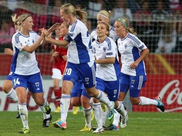 La Selección femenina de fútbol de Finlandia