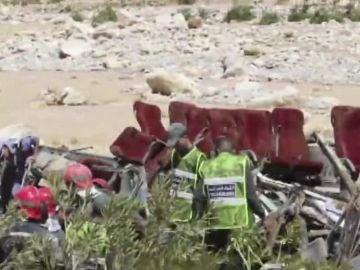 Accidente de autobús en Marruecos