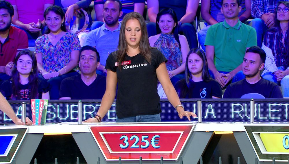 La arriesgada decisión de Raissa en 'La ruleta de la suerte'