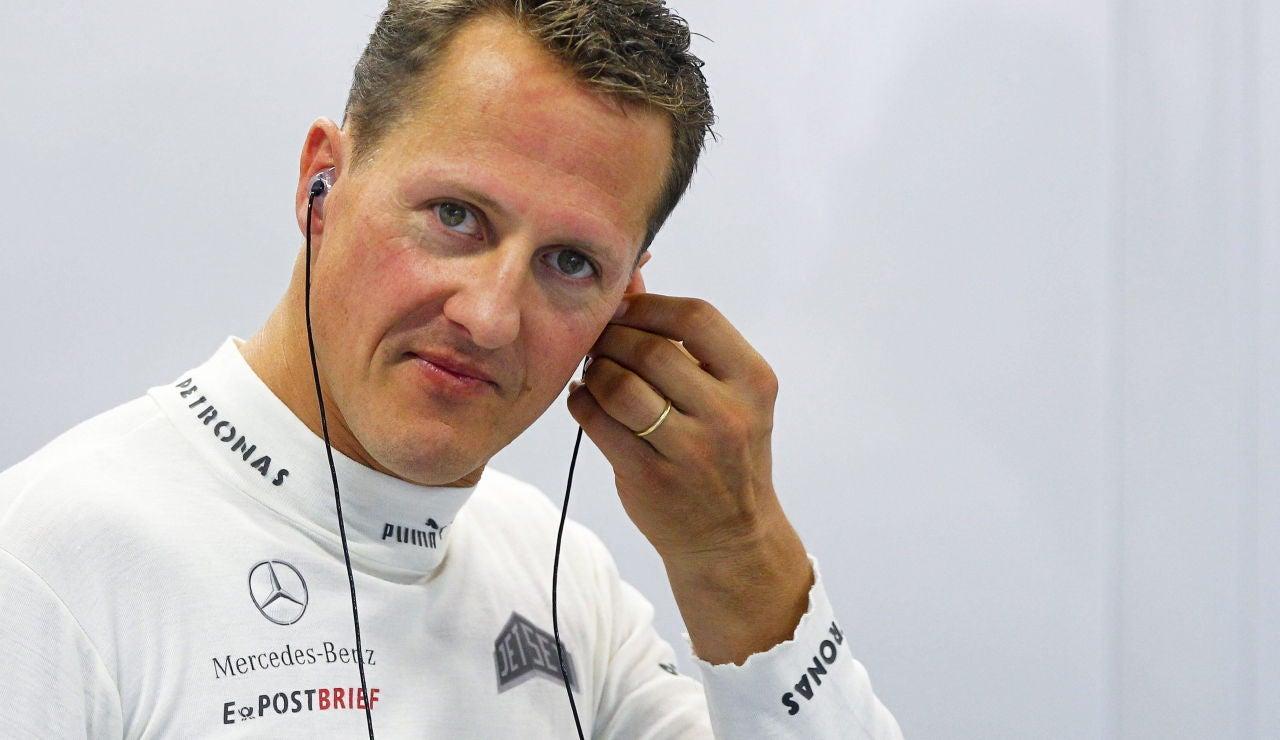 El expiloto alemán Michael Schumacher