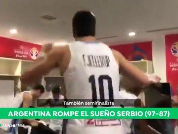 Una brava Argentina da la sorpresa y elimina a Serbia del Mundial de baloncesto