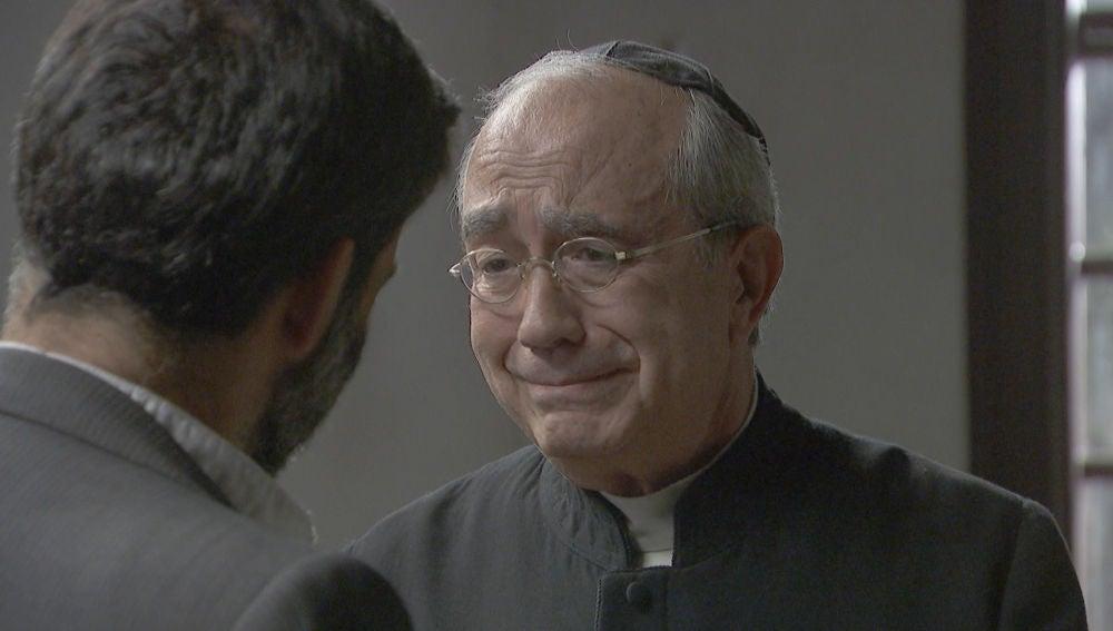 La triste despedida de Berengario y Don Anselmo tras una vida de amistad