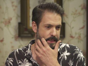 Chico García se enfrenta a un test sobre su personaje en 'El secreto de Puente Viejo'