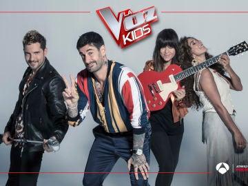 'La Voz Kids' se estrena el lunes y el martes en Antena 3