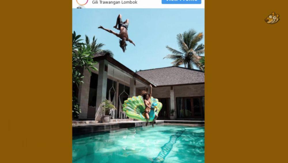 La temeraria foto de una pareja de 'influencers' que causa una gran polémica en las redes sociales