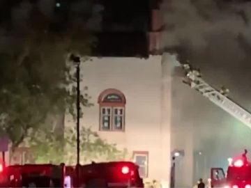 Incendio en una sinagoga de Estados Unidos