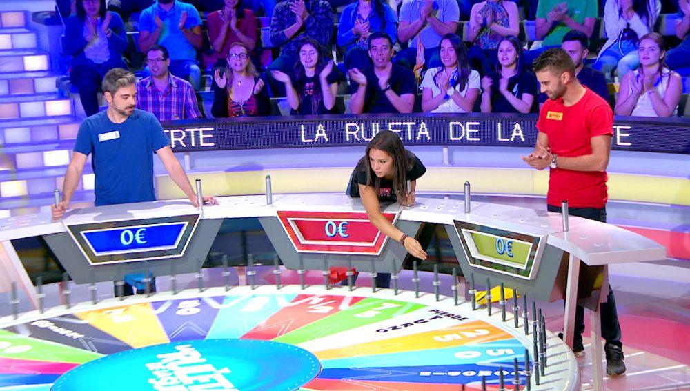 La mala suerte con la que han comenzado los concursantes en 'La ruleta de la suerte'