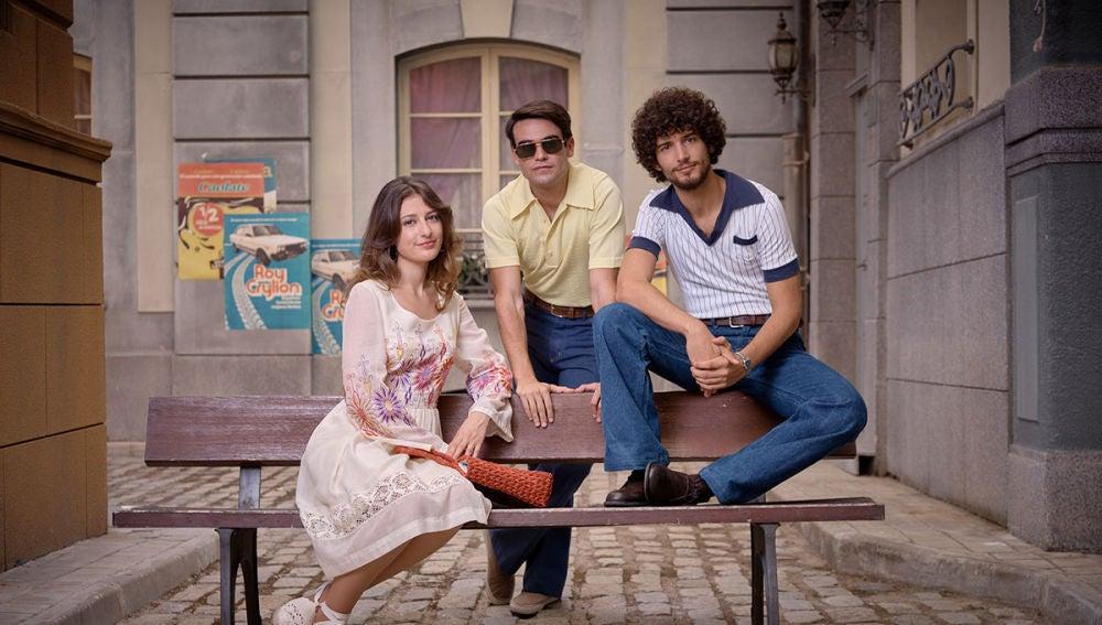 Mateo, Fede y Marina crean Onda Libertad en 'Amar es para siempre'