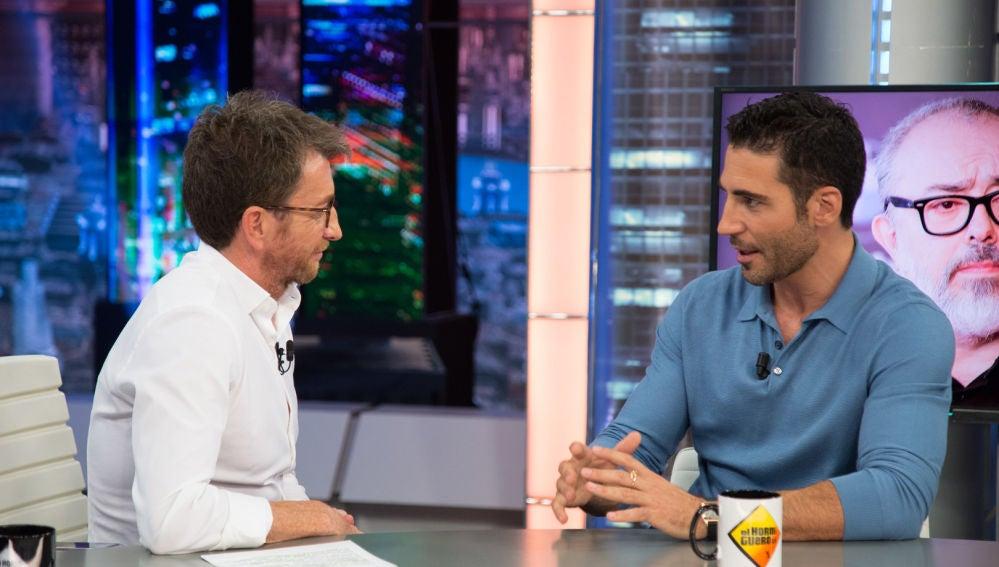 Miguel Ángel Silvestre desvela en 'El Hormiguero 3.0' la fotografía que hizo que interpretase a Pablo Ibar